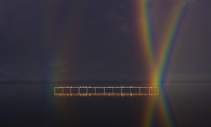 Intersecting rainbows